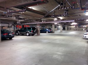 12963 Runway Road - Secure gated underground parking lot